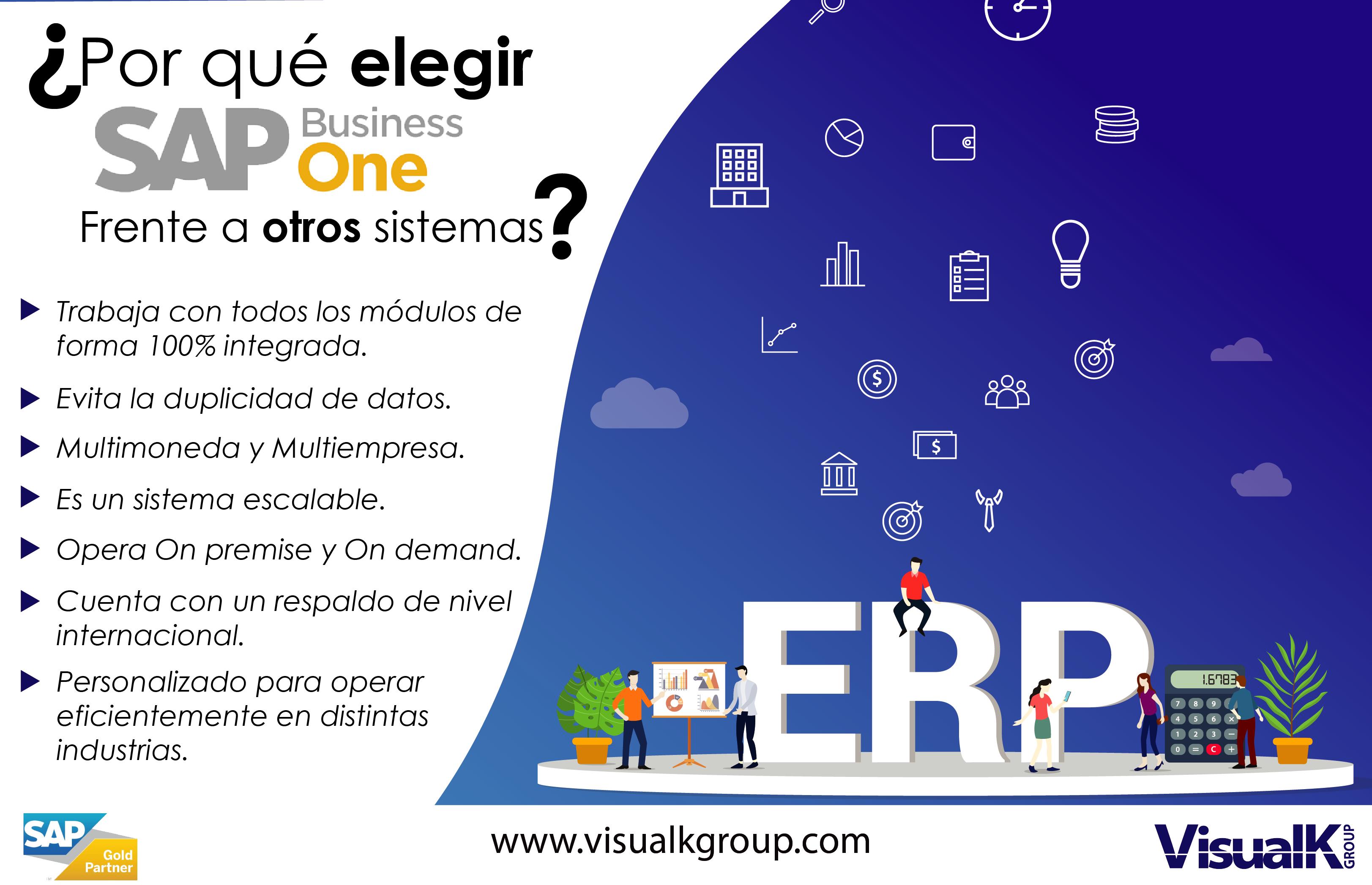 Conoce Por Qué Elegir Sap Business One Visualk Group